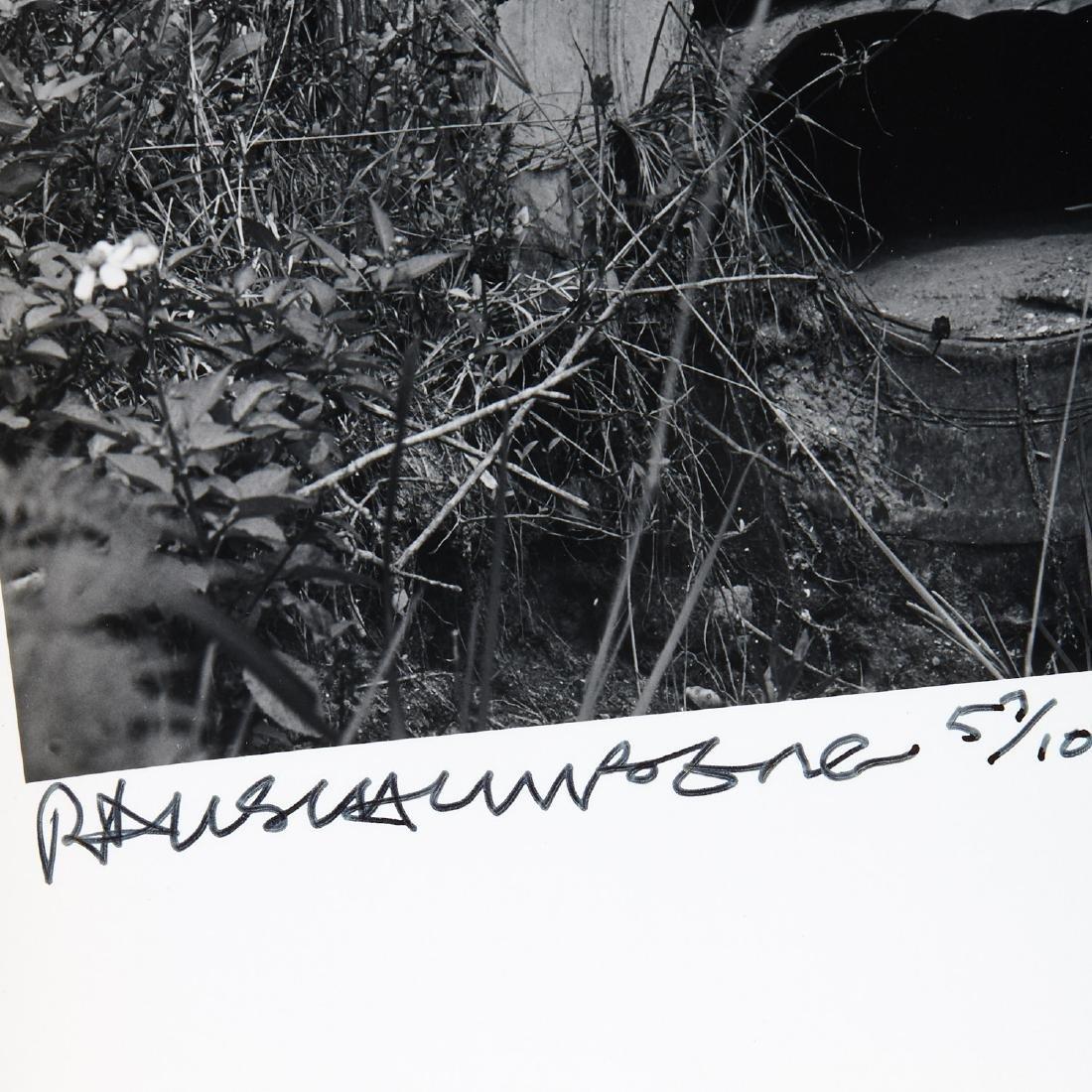 Robert Rauschenberg, photograph - 4