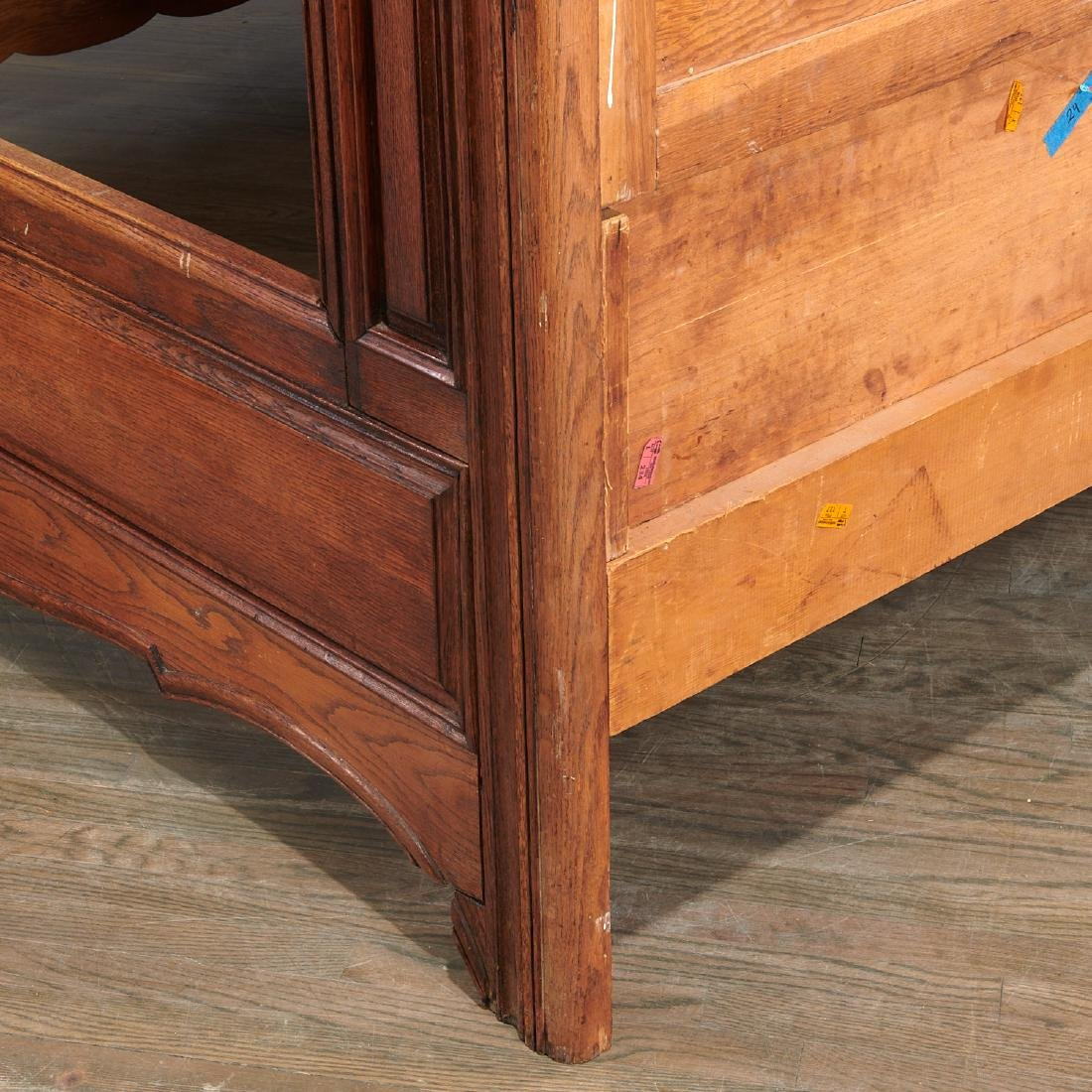 Provincial French paneled (king) tester bed - 8