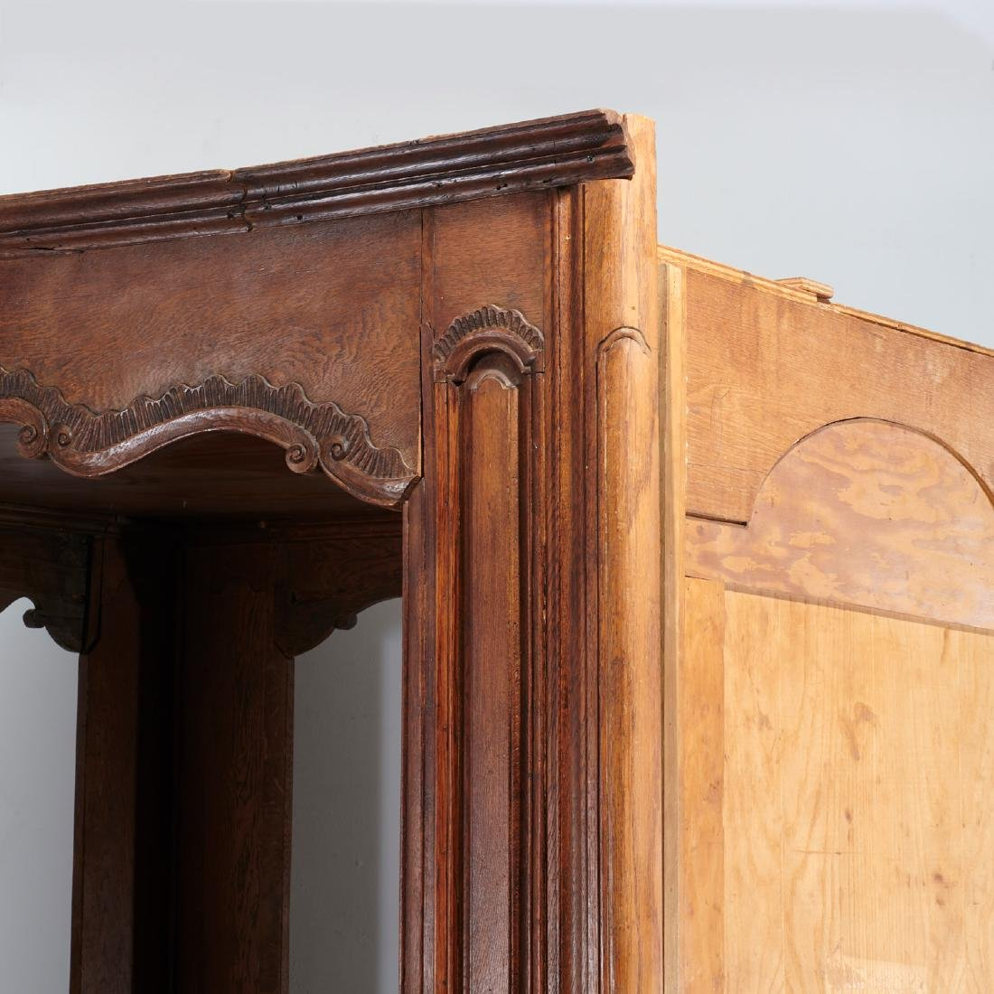 Provincial French paneled (king) tester bed - 9