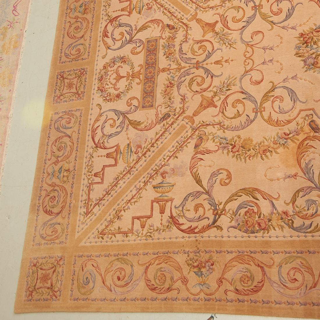 "Savonnerie style carpet signed ""R.C."" - 2"