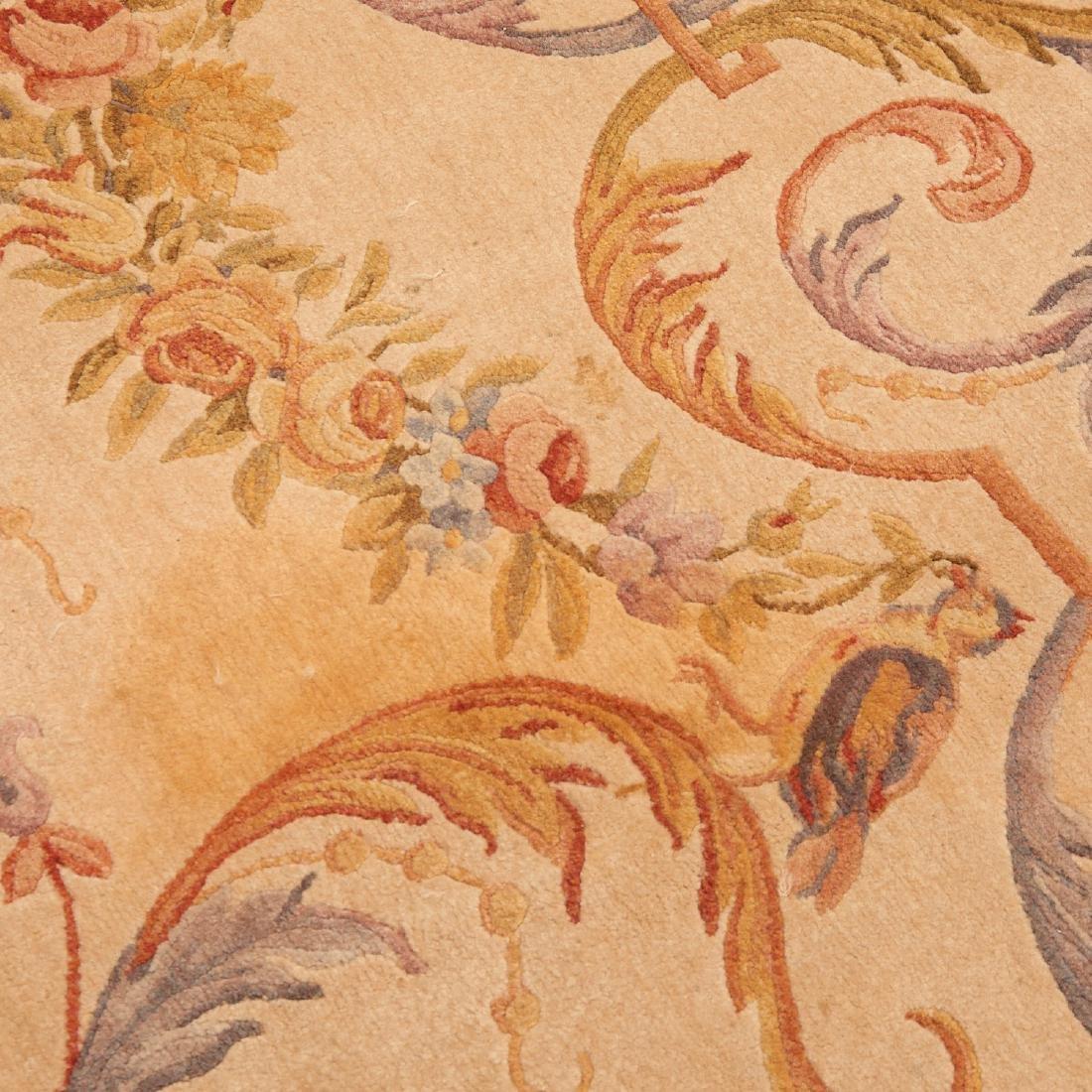 "Savonnerie style carpet signed ""R.C."" - 3"