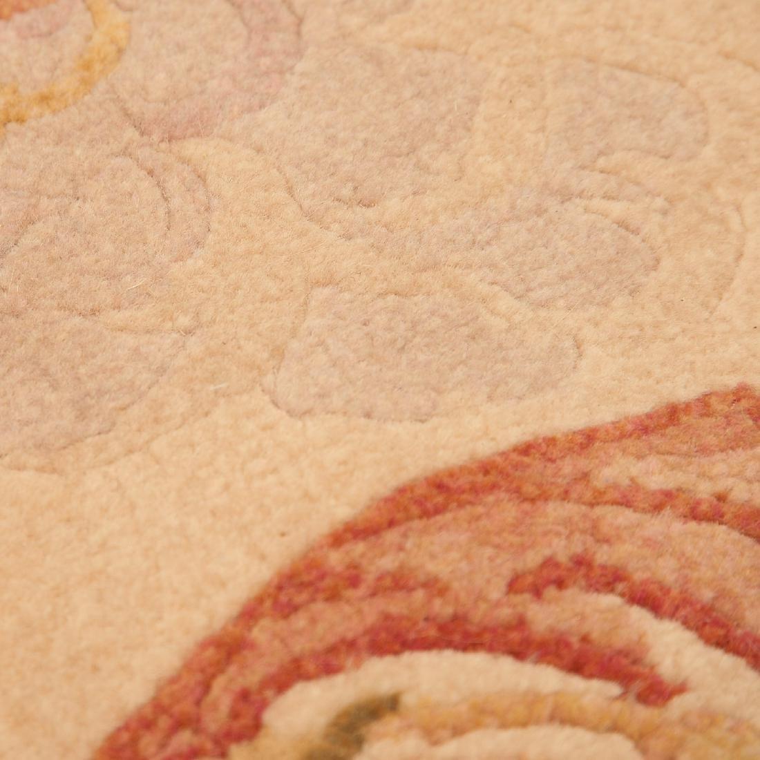 "Savonnerie style carpet signed ""R.C."" - 4"