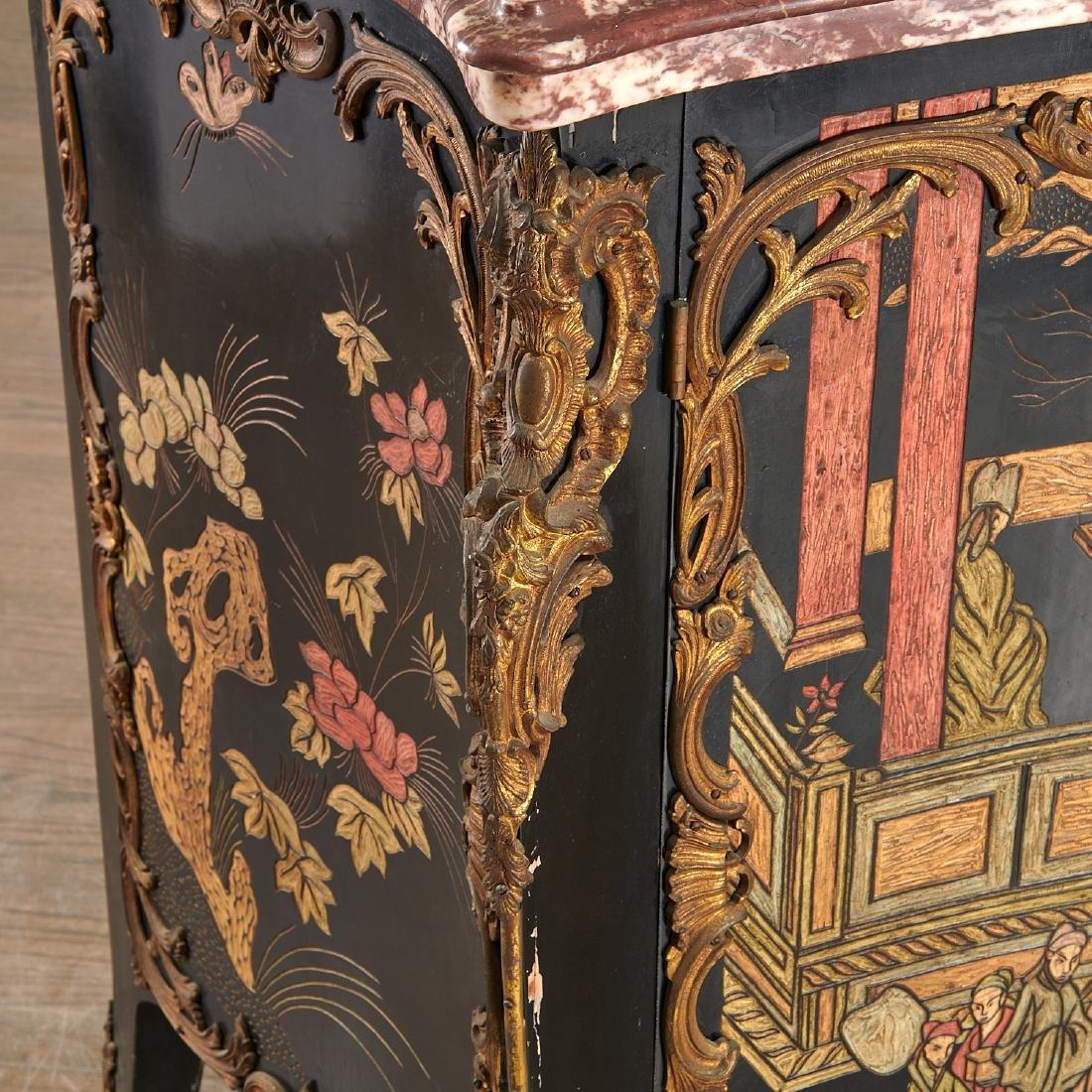 Louis XV style coromandel commode a vantaux - 2