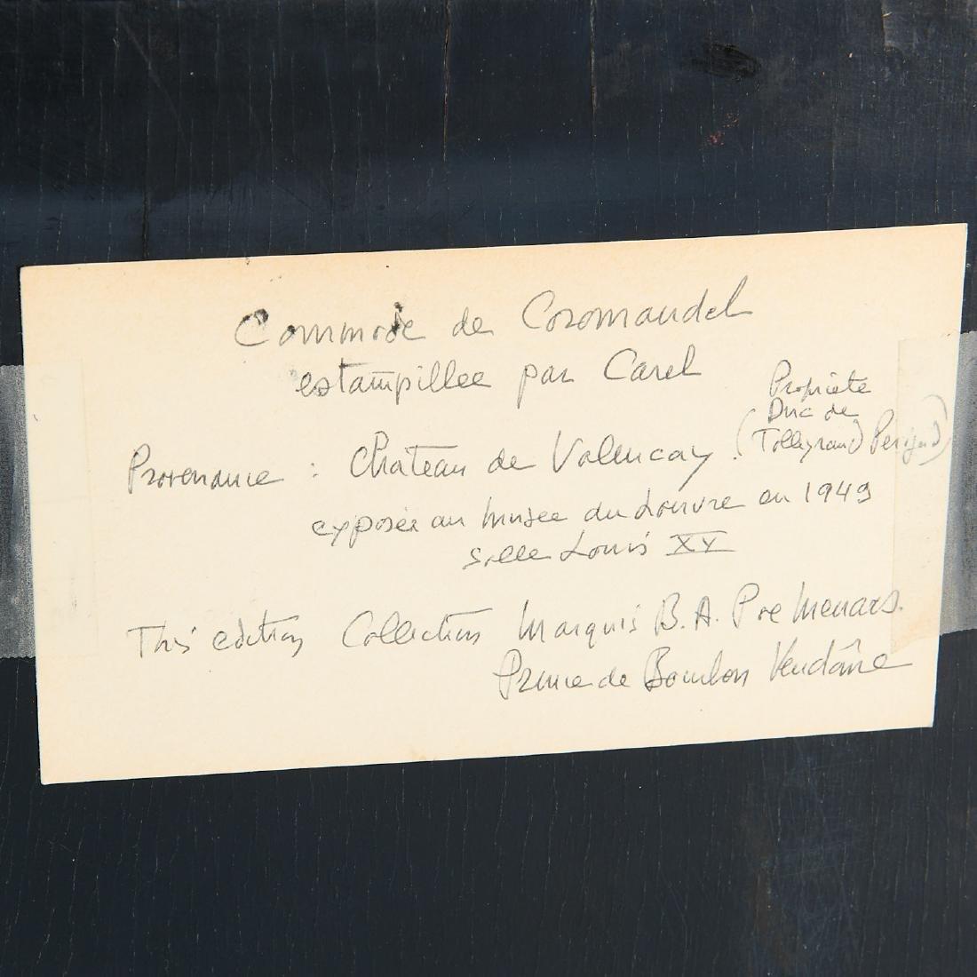 Louis XV style coromandel commode a vantaux - 5