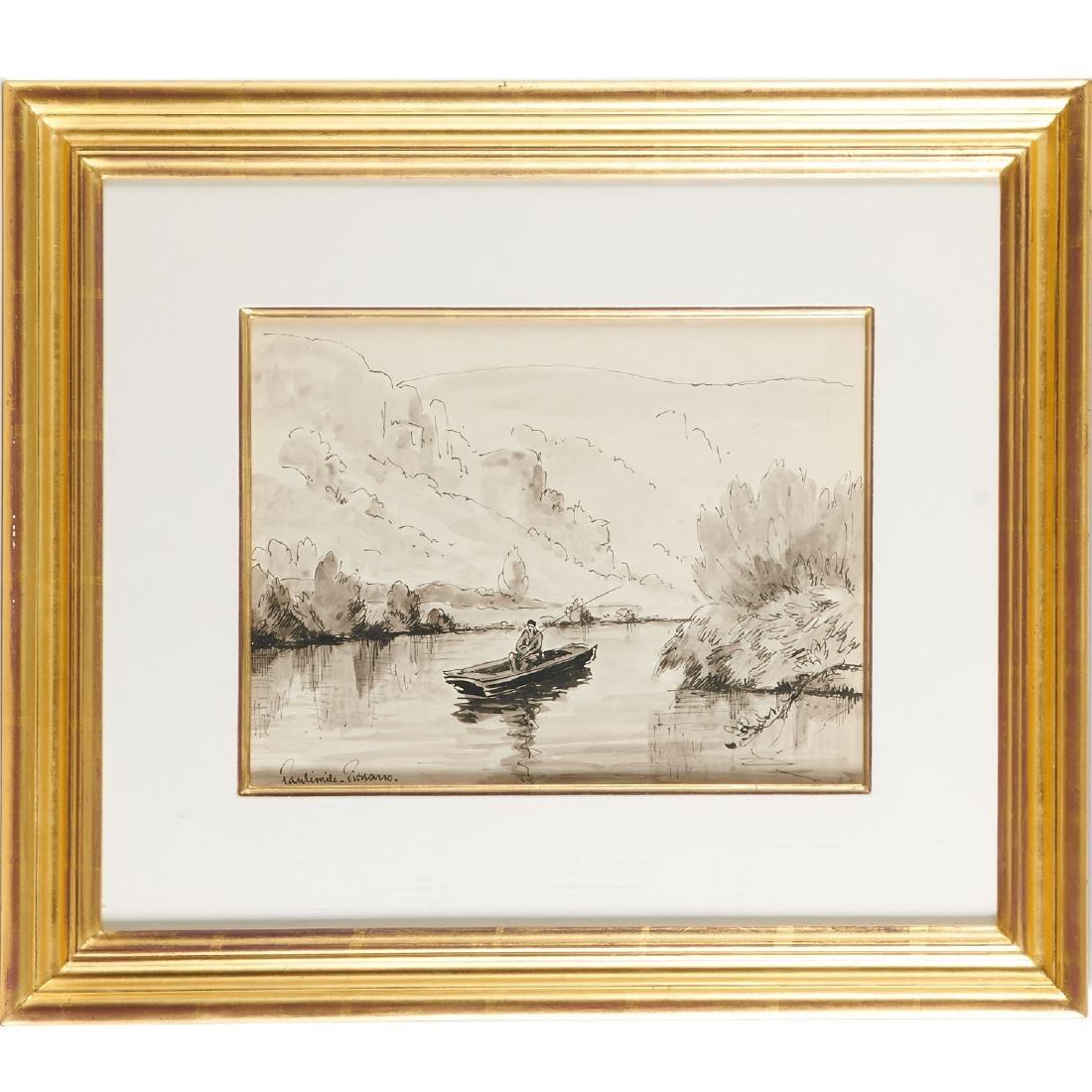 Paulemile Pissarro, drawing