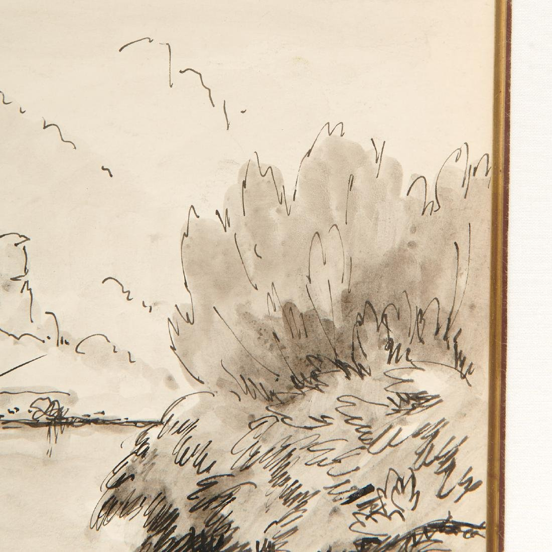 Paulemile Pissarro, drawing - 3