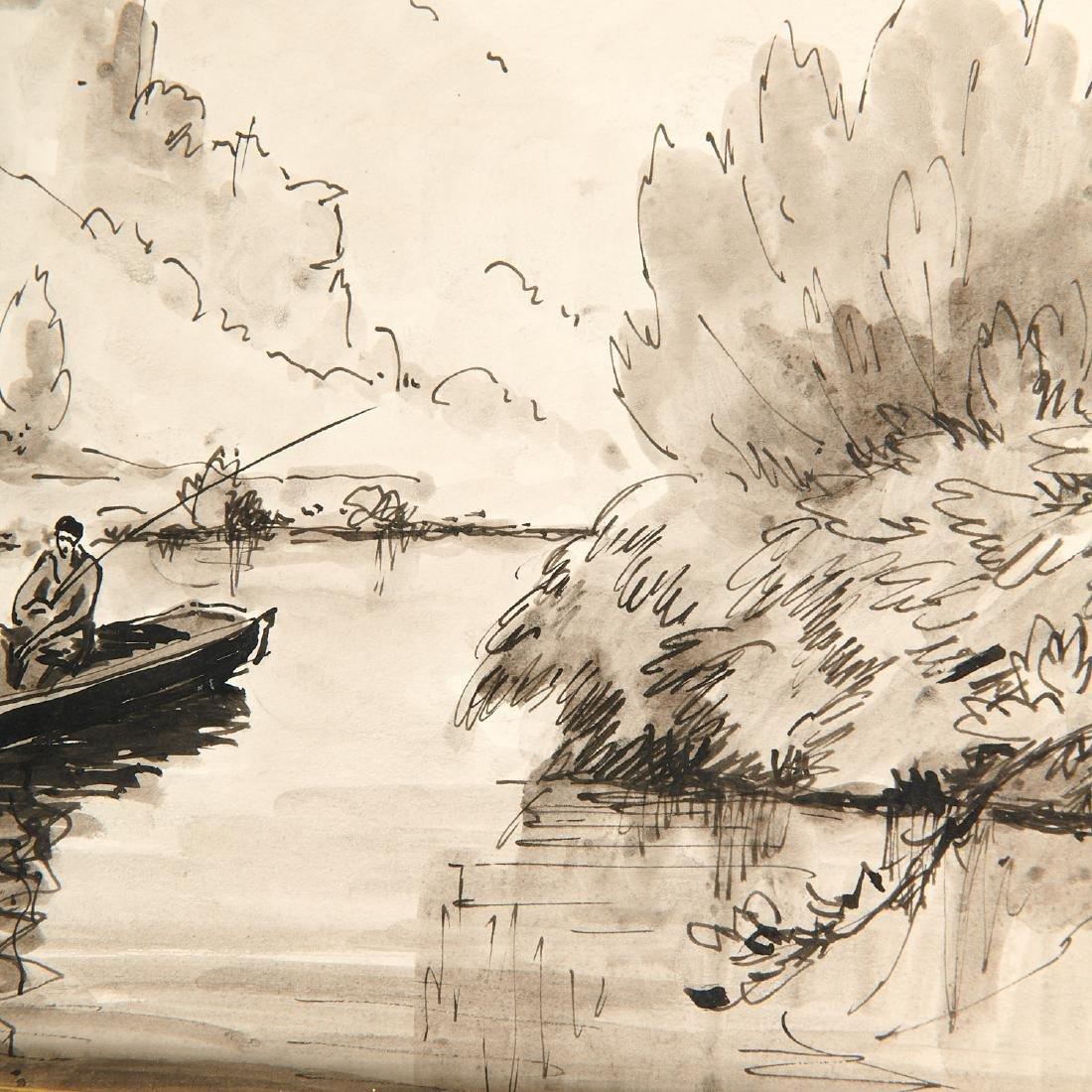 Paulemile Pissarro, drawing - 4