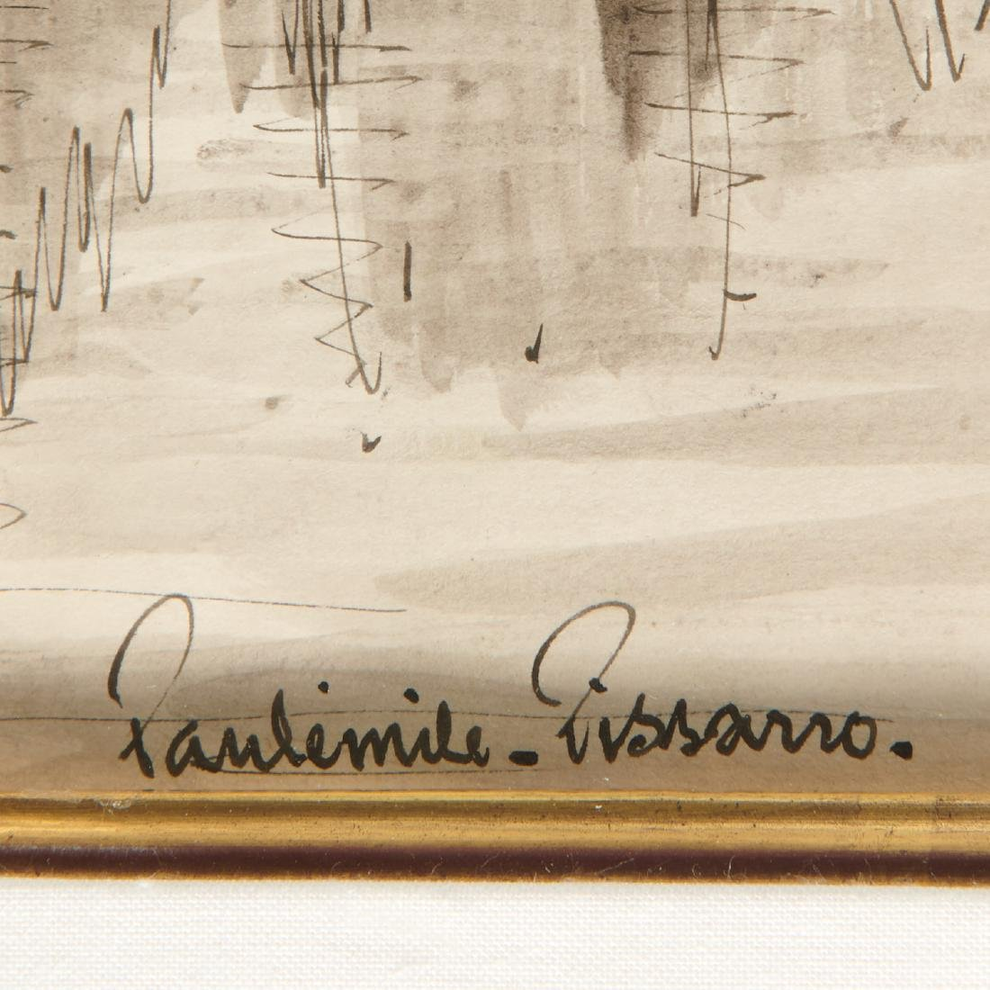 Paulemile Pissarro, drawing - 6