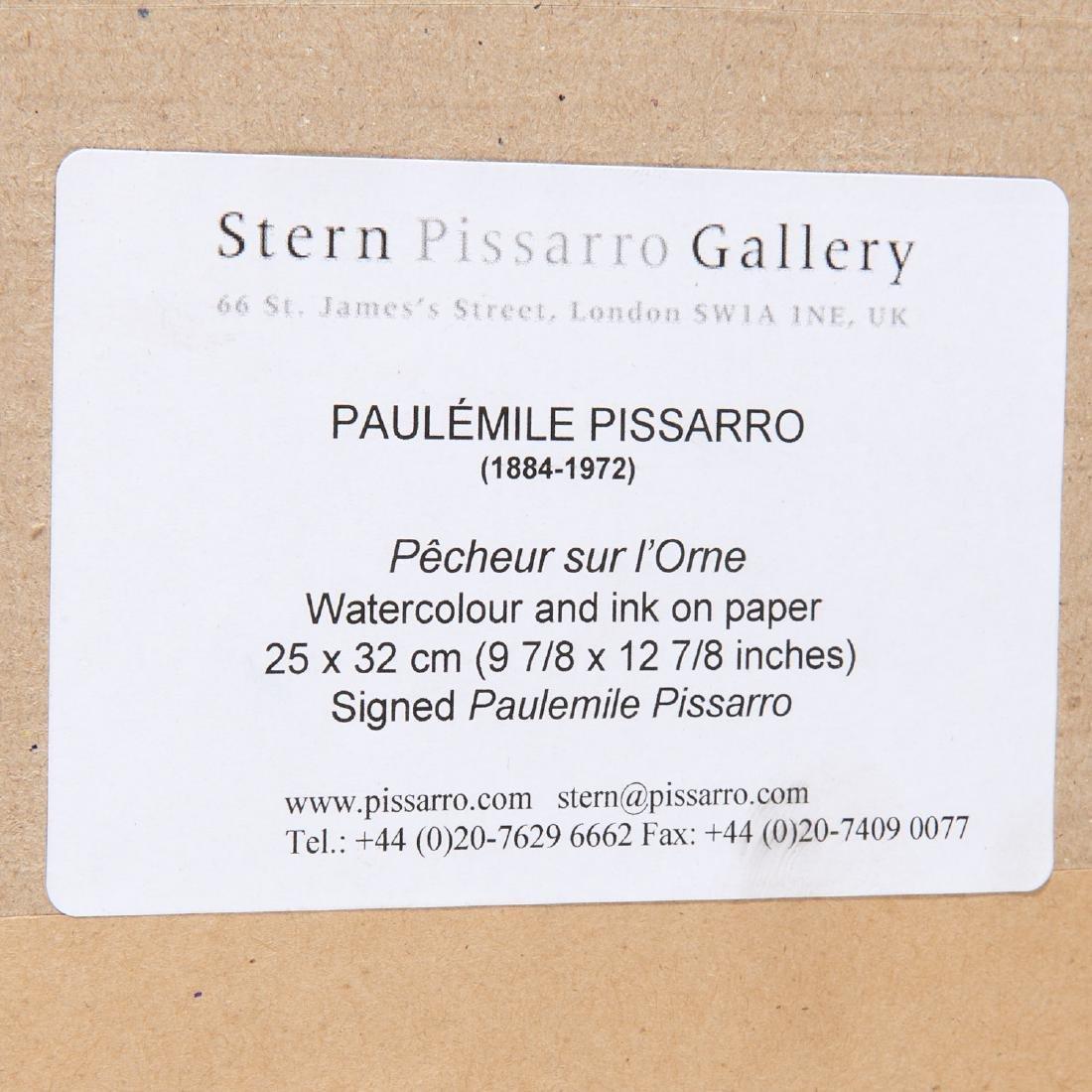 Paulemile Pissarro, drawing - 7