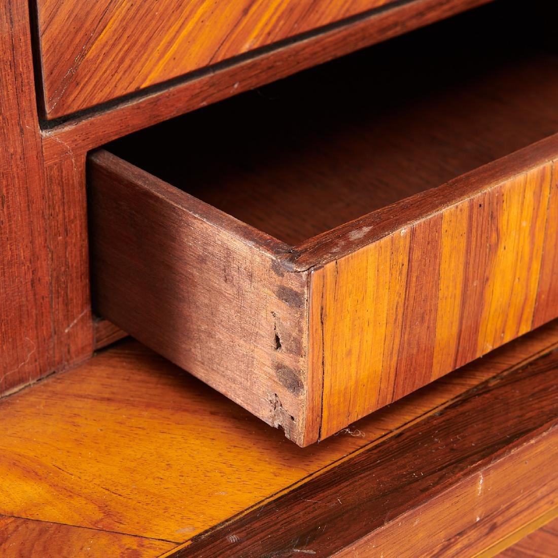 Louis XVI library secretaire bookcase - 2