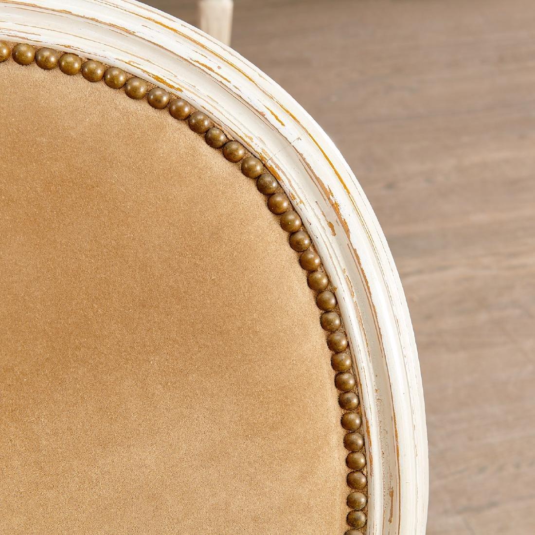 Set (8) Louis XVI style fauteuils - 4
