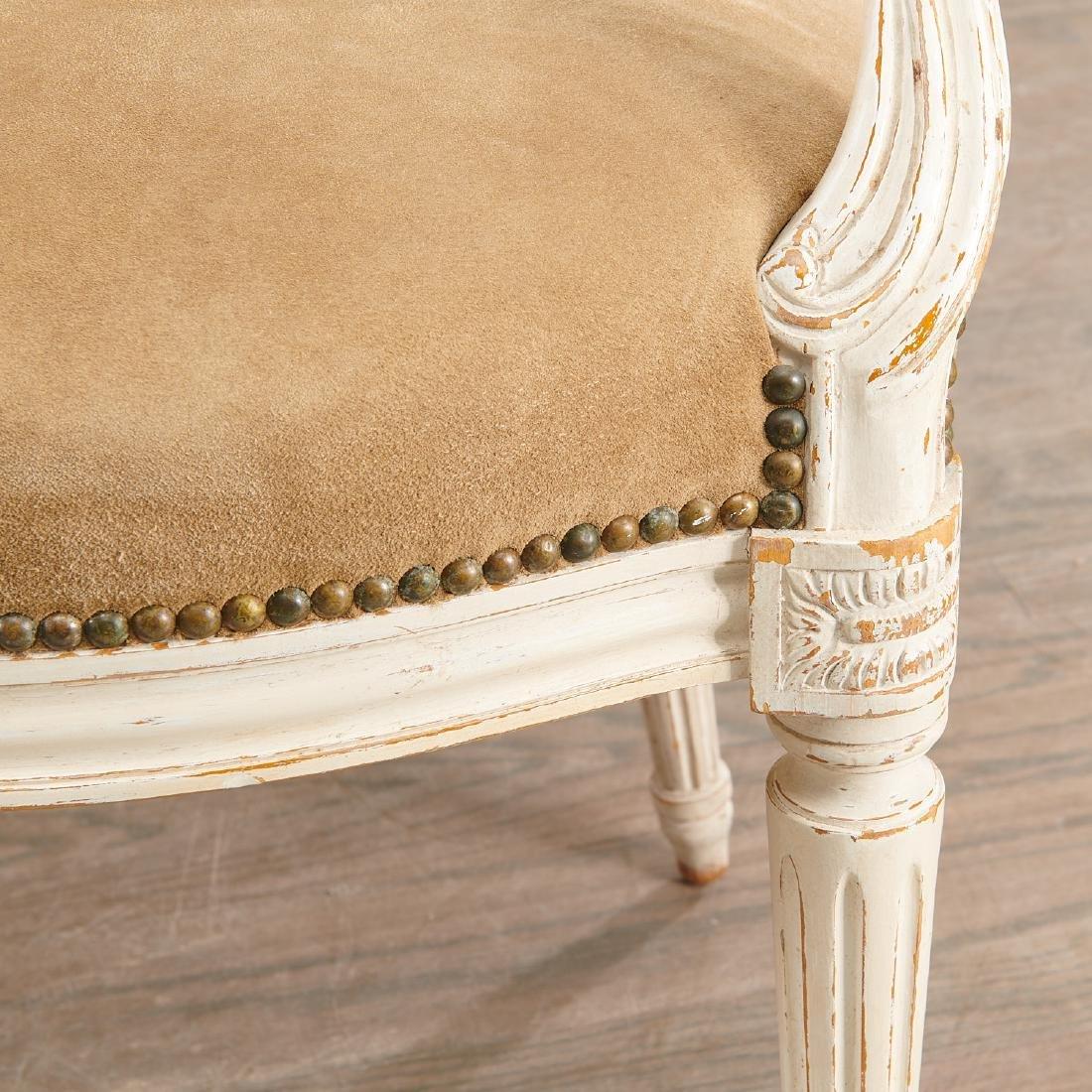 Set (8) Louis XVI style fauteuils - 5