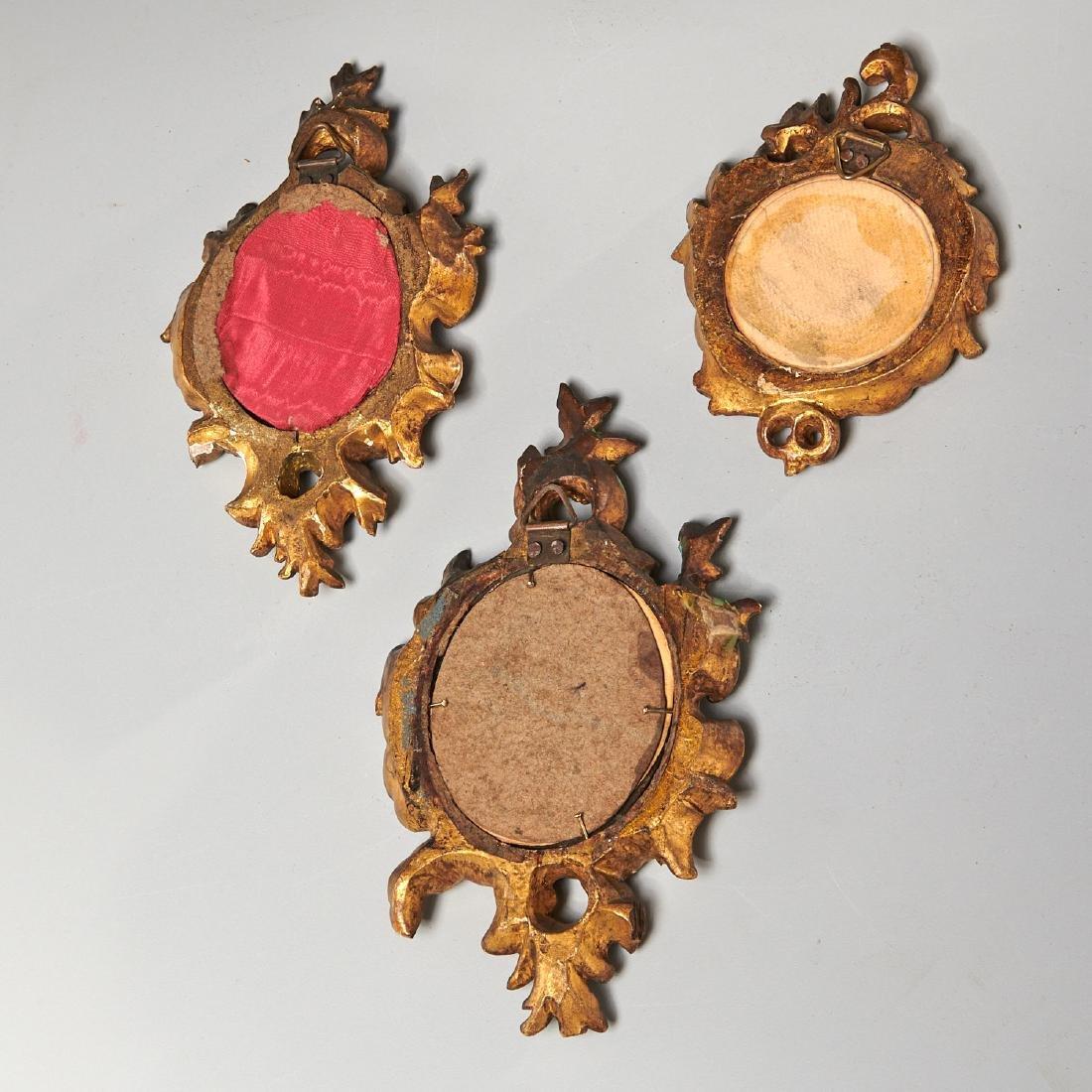 (3) French portrait miniatures of Court Ladies - 5