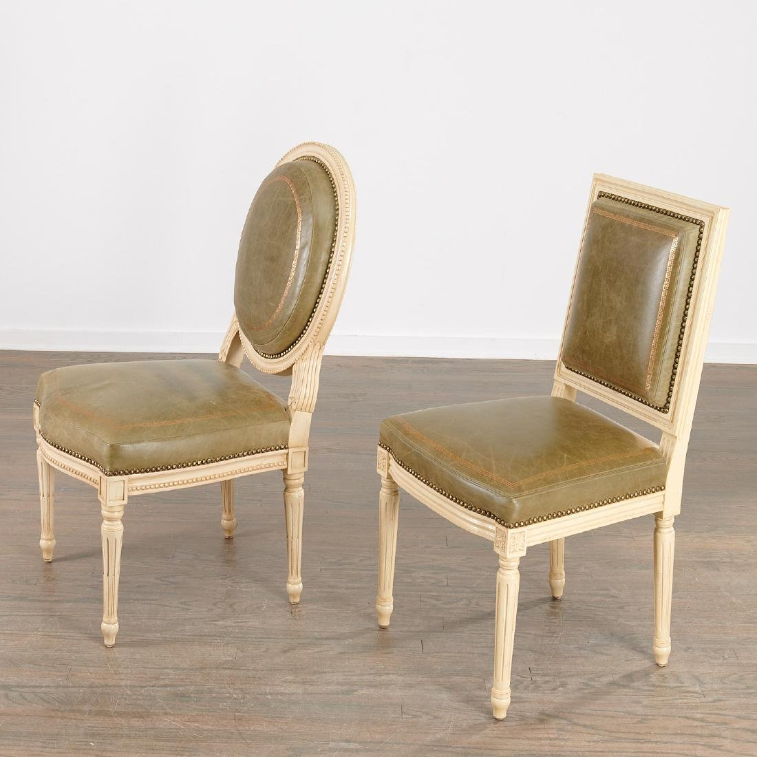 Nice set (12) Louis XVI style dining chairs - 6