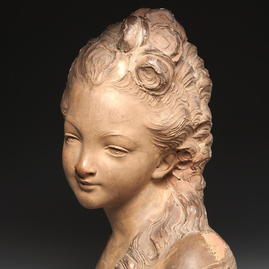 Fernand Cian, bust sculpture - 2