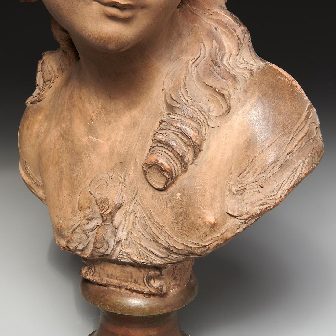 Fernand Cian, bust sculpture - 3