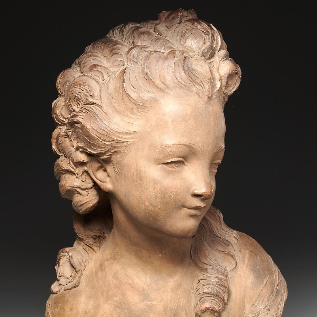 Fernand Cian, bust sculpture - 4