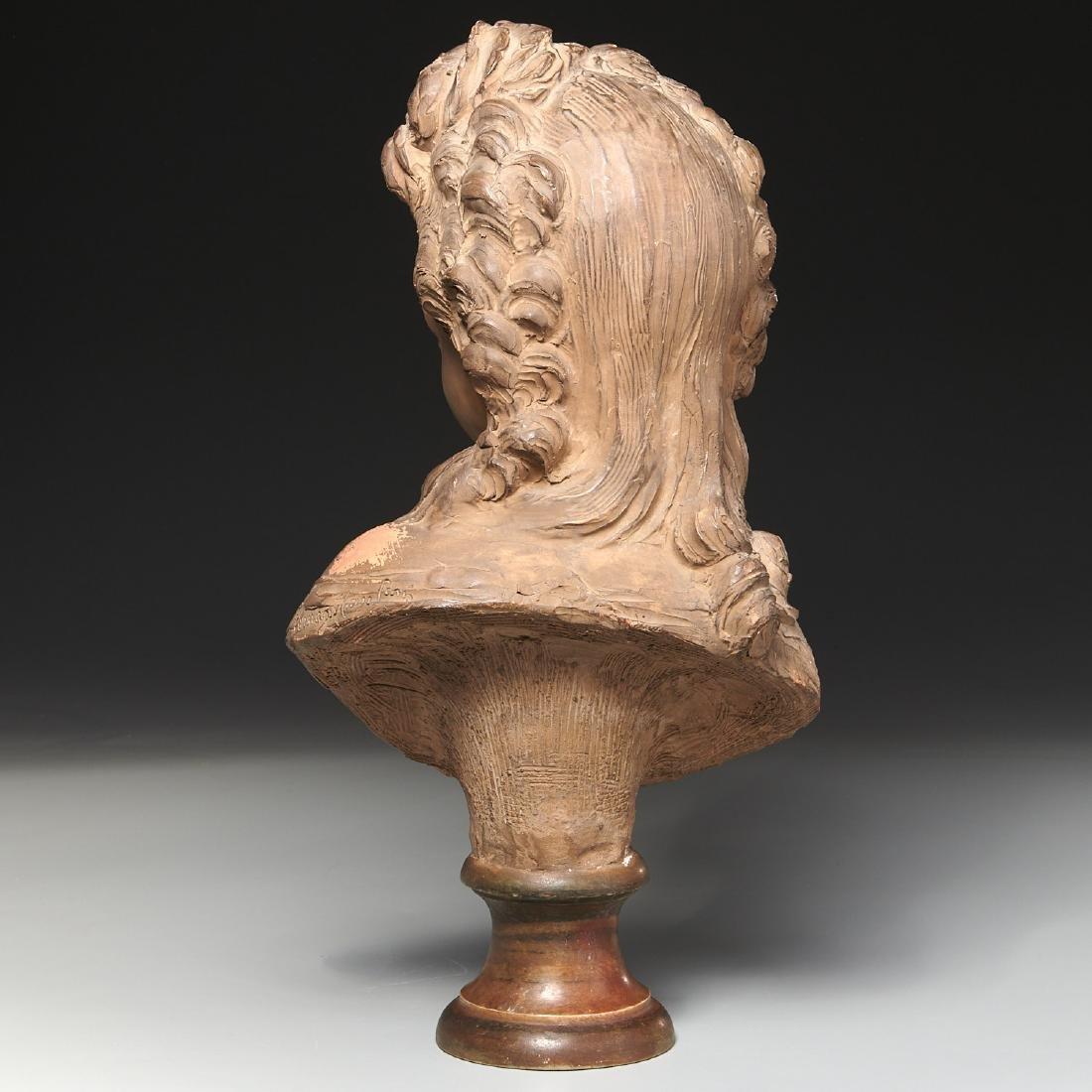 Fernand Cian, bust sculpture - 7