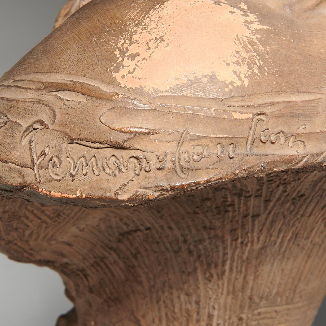 Fernand Cian, bust sculpture - 8