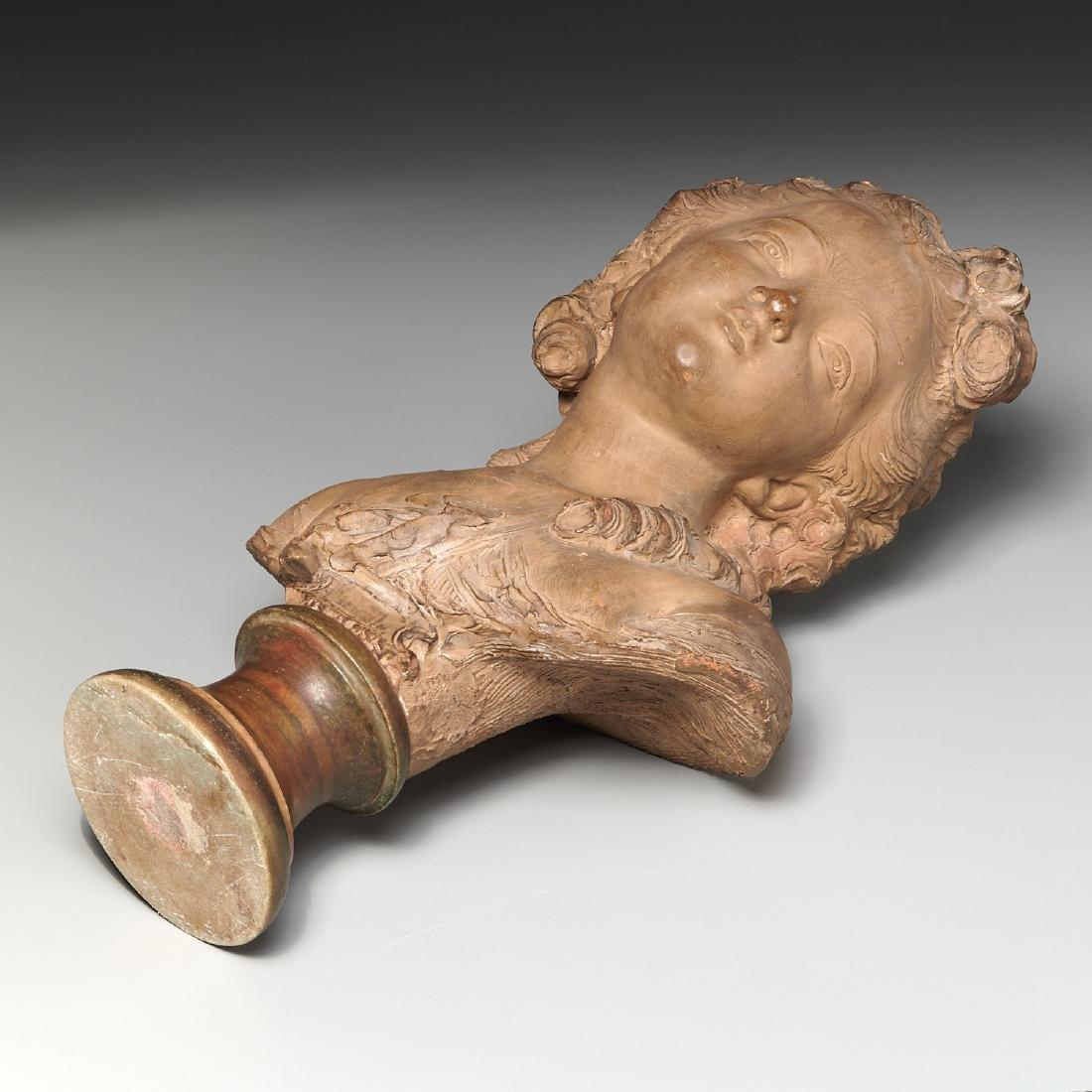 Fernand Cian, bust sculpture - 9