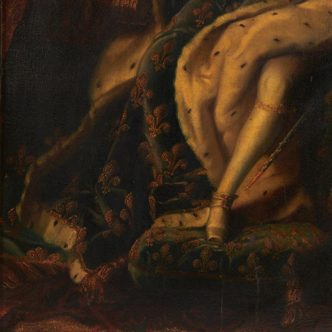 After Hyacinthe Rigaud, portrait of Louis XV - 6