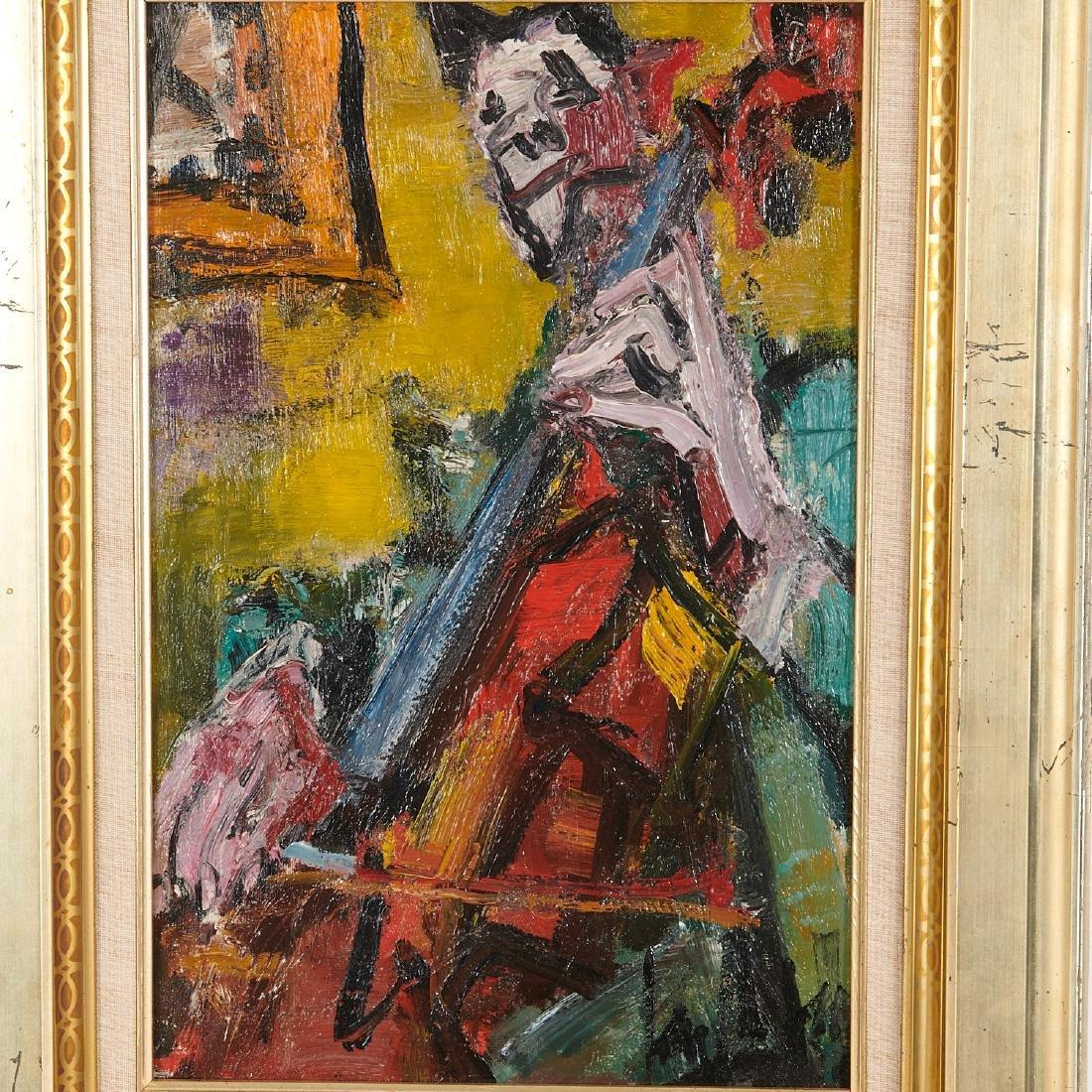 Gen Paul, painting - 2