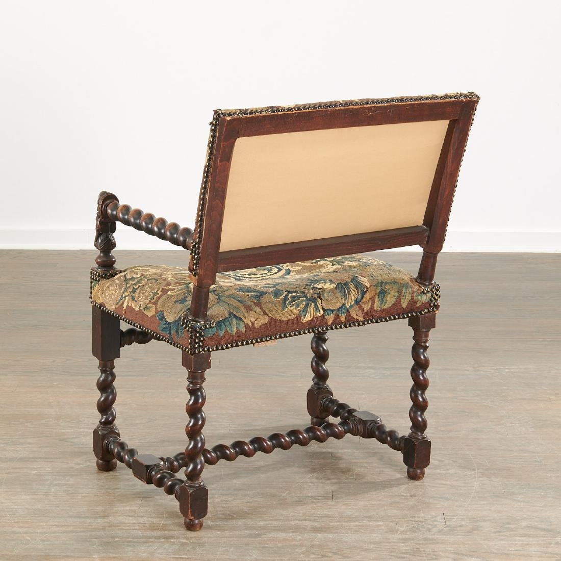 Franco-Flemish Baroque style armchair - 6