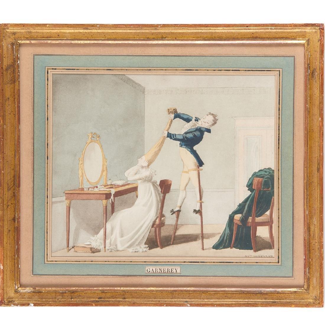 Auguste-Simeon Garneray, watercolor