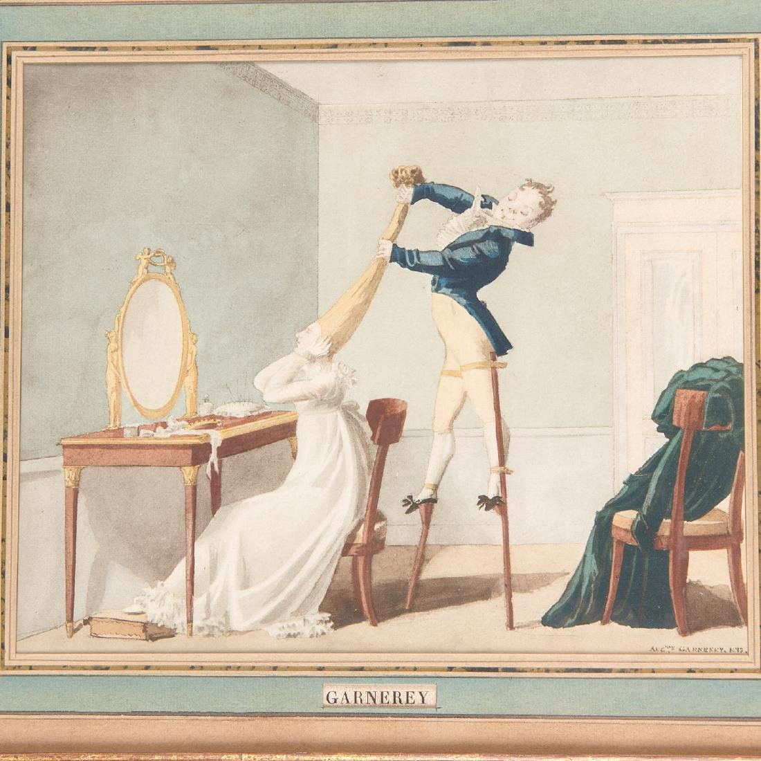 Auguste-Simeon Garneray, watercolor - 2