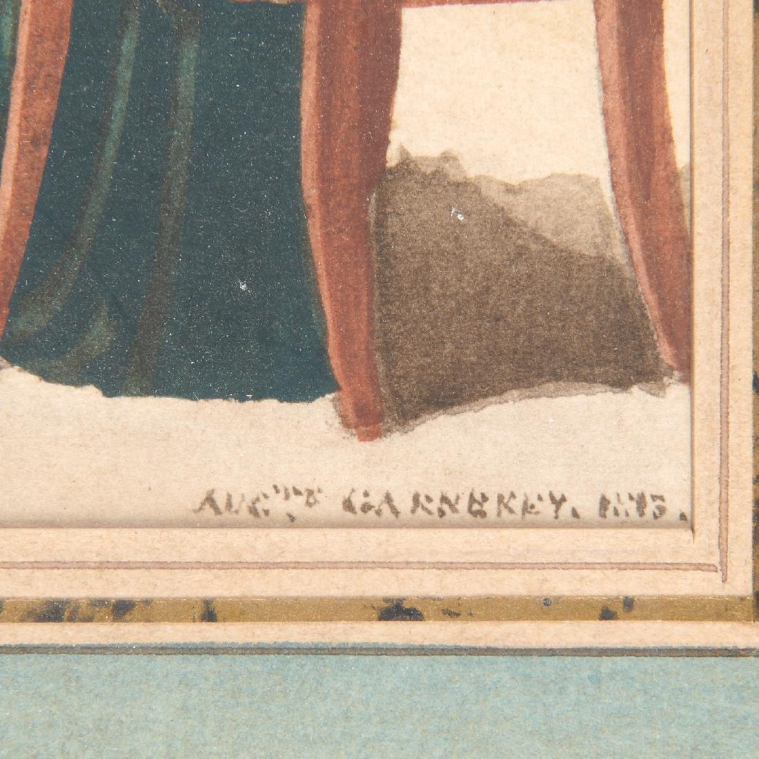 Auguste-Simeon Garneray, watercolor - 5