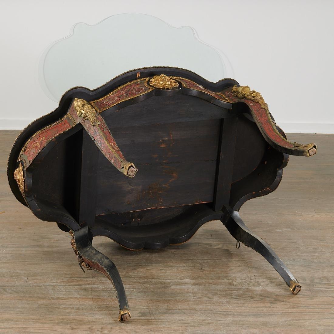 Napoleon III Boulle turtle top table/desk - 10