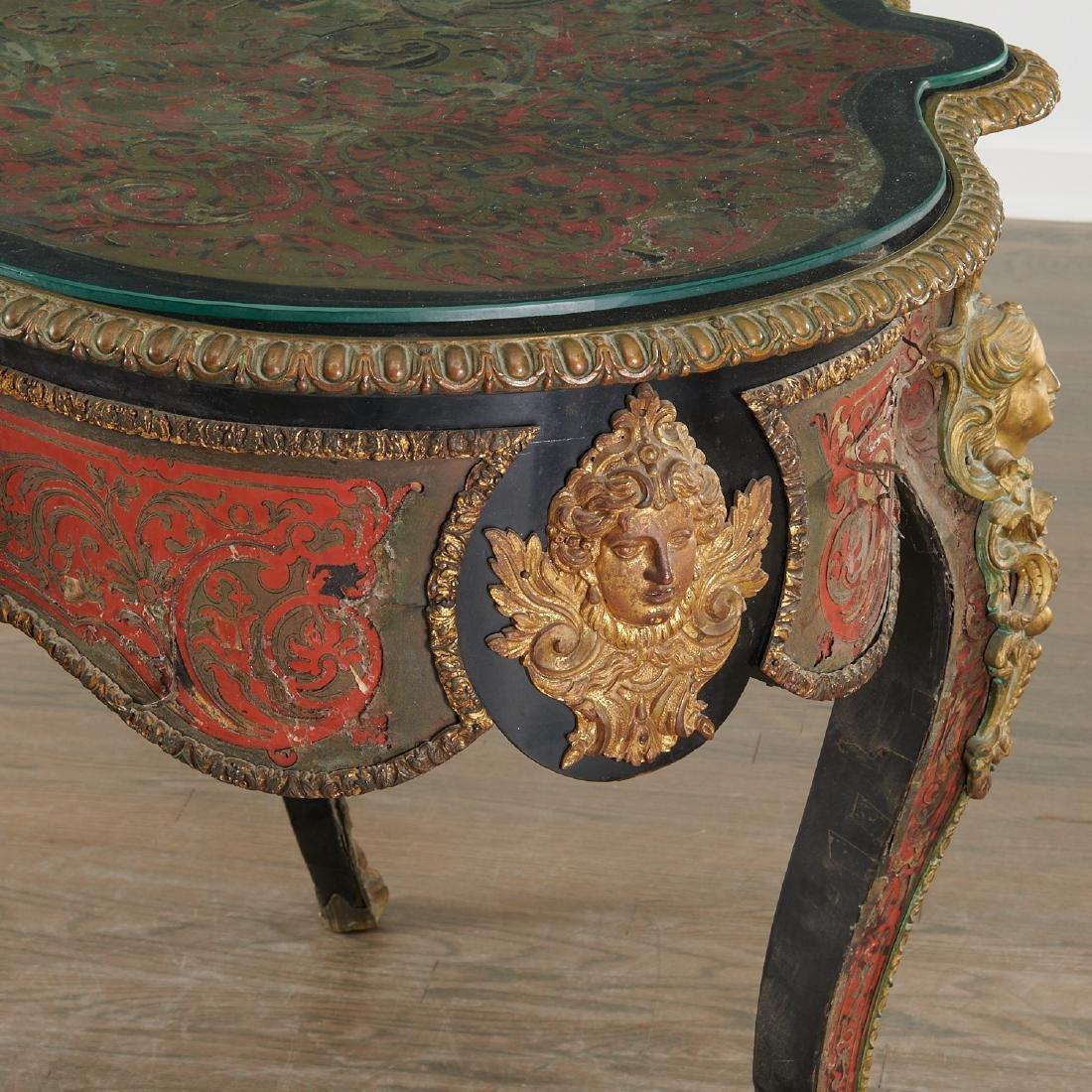 Napoleon III Boulle turtle top table/desk - 5
