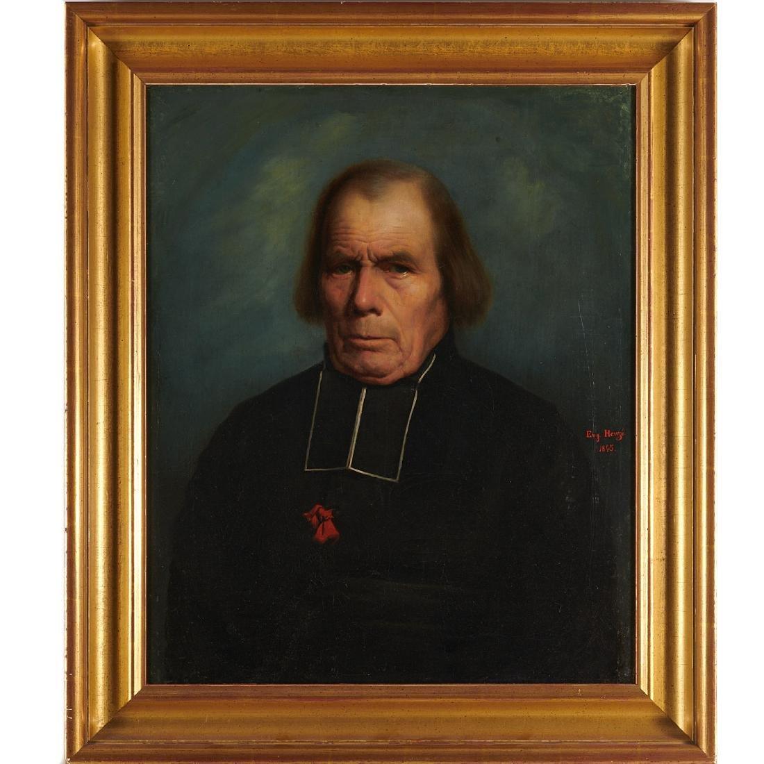 Eugene Heuze, painting
