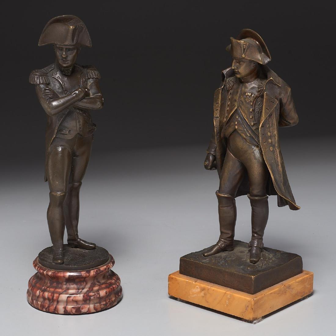 (2) Napoleon cabinet bronzes