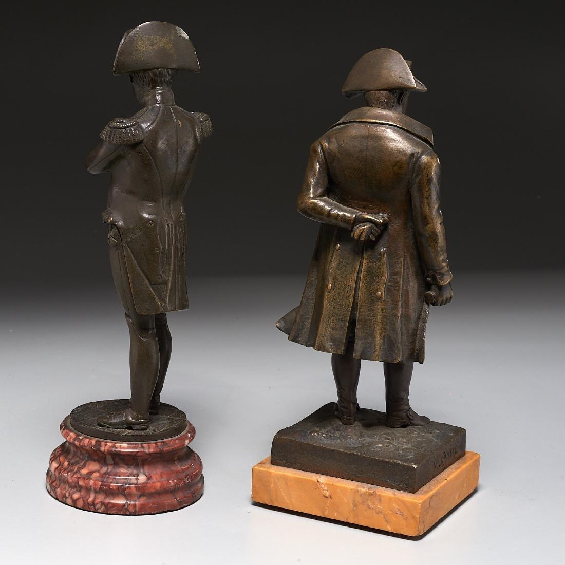 (2) Napoleon cabinet bronzes - 4