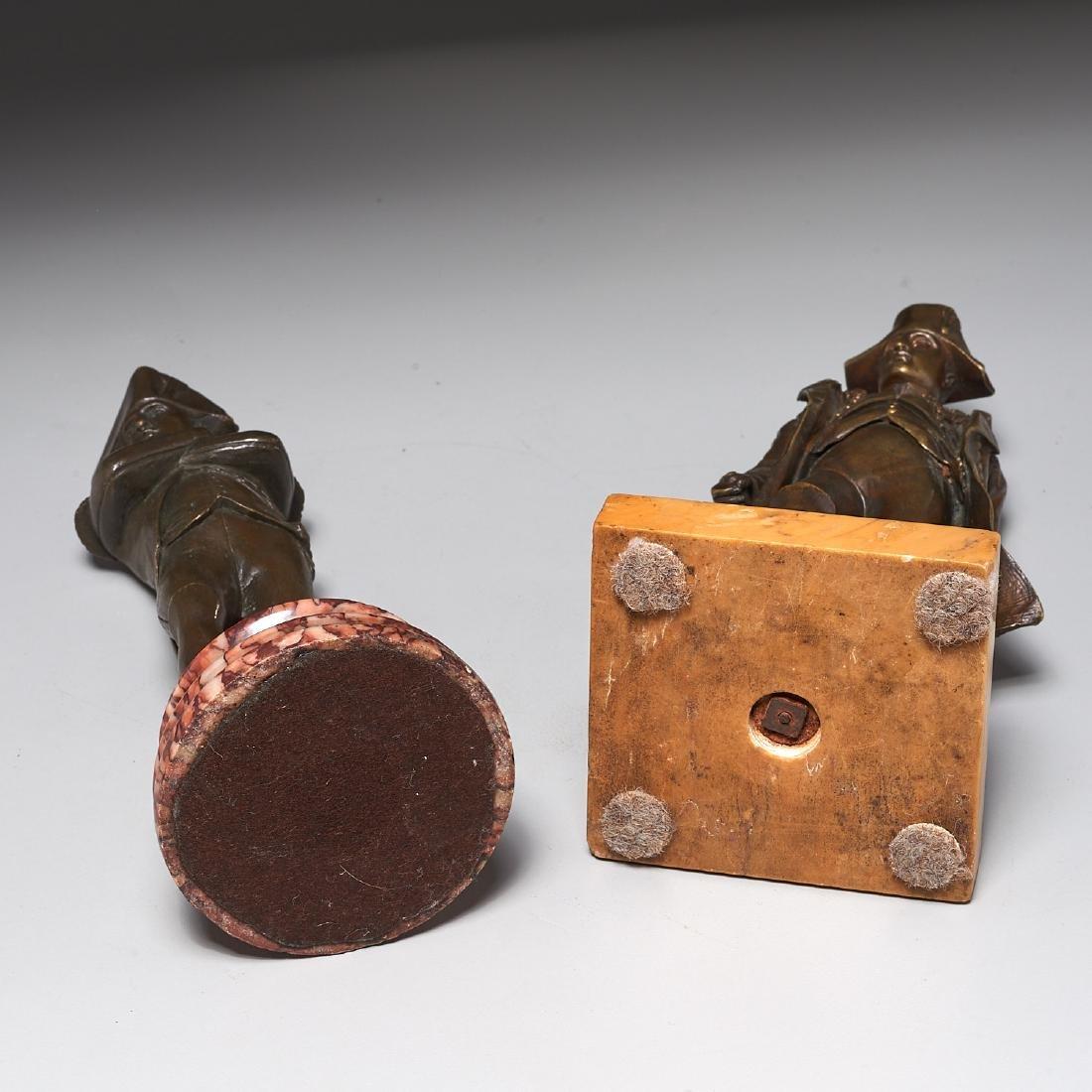 (2) Napoleon cabinet bronzes - 6