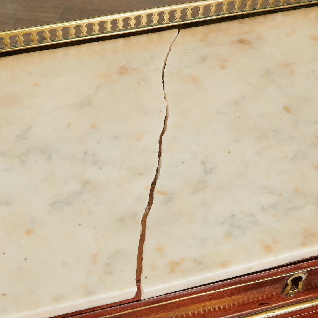 Louis XVI style bureau de cylindre - 5