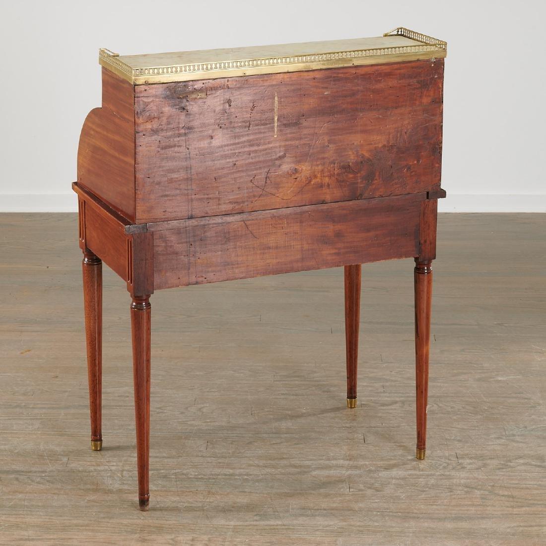 Louis XVI style bureau de cylindre - 6
