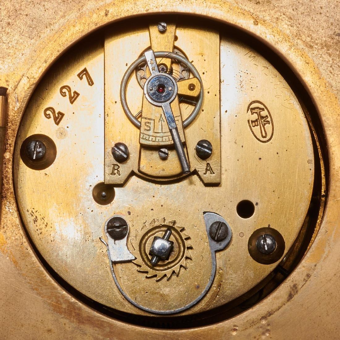 French cartel clock signed Balthazar, Paris - 10