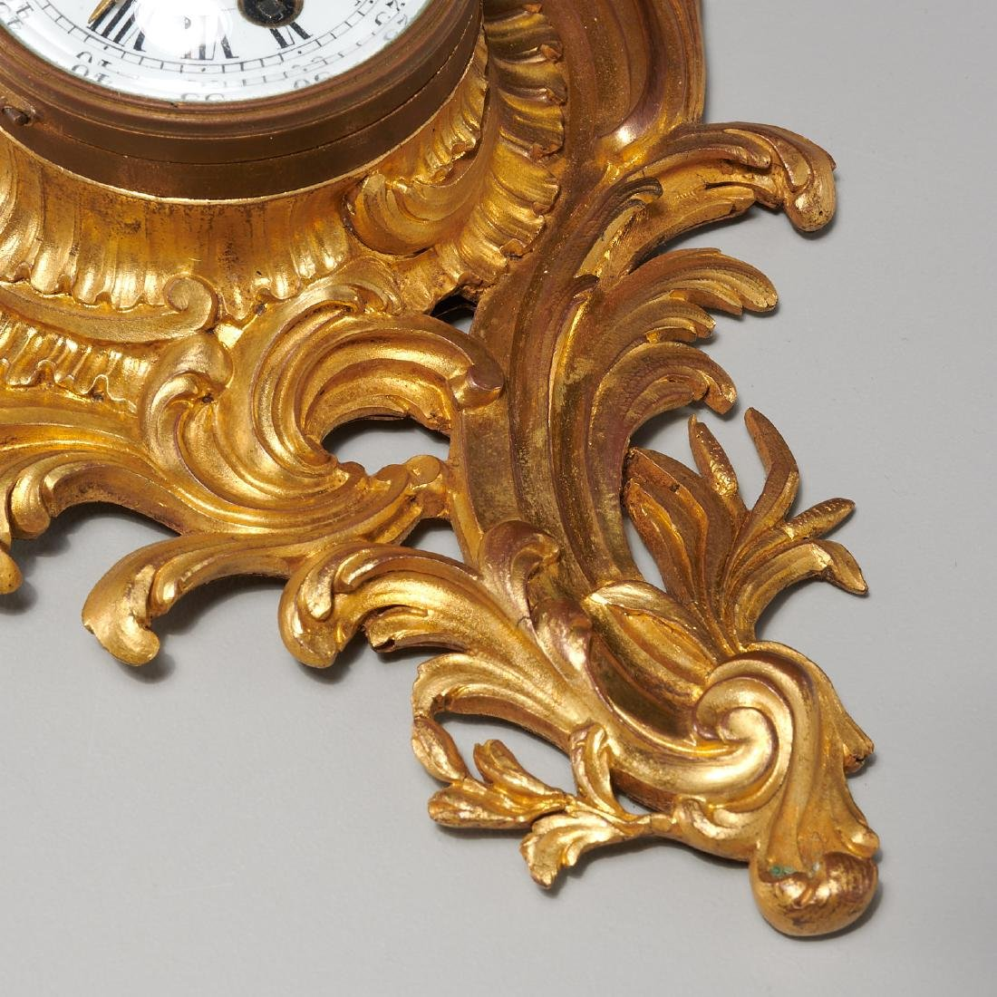 French cartel clock signed Balthazar, Paris - 5