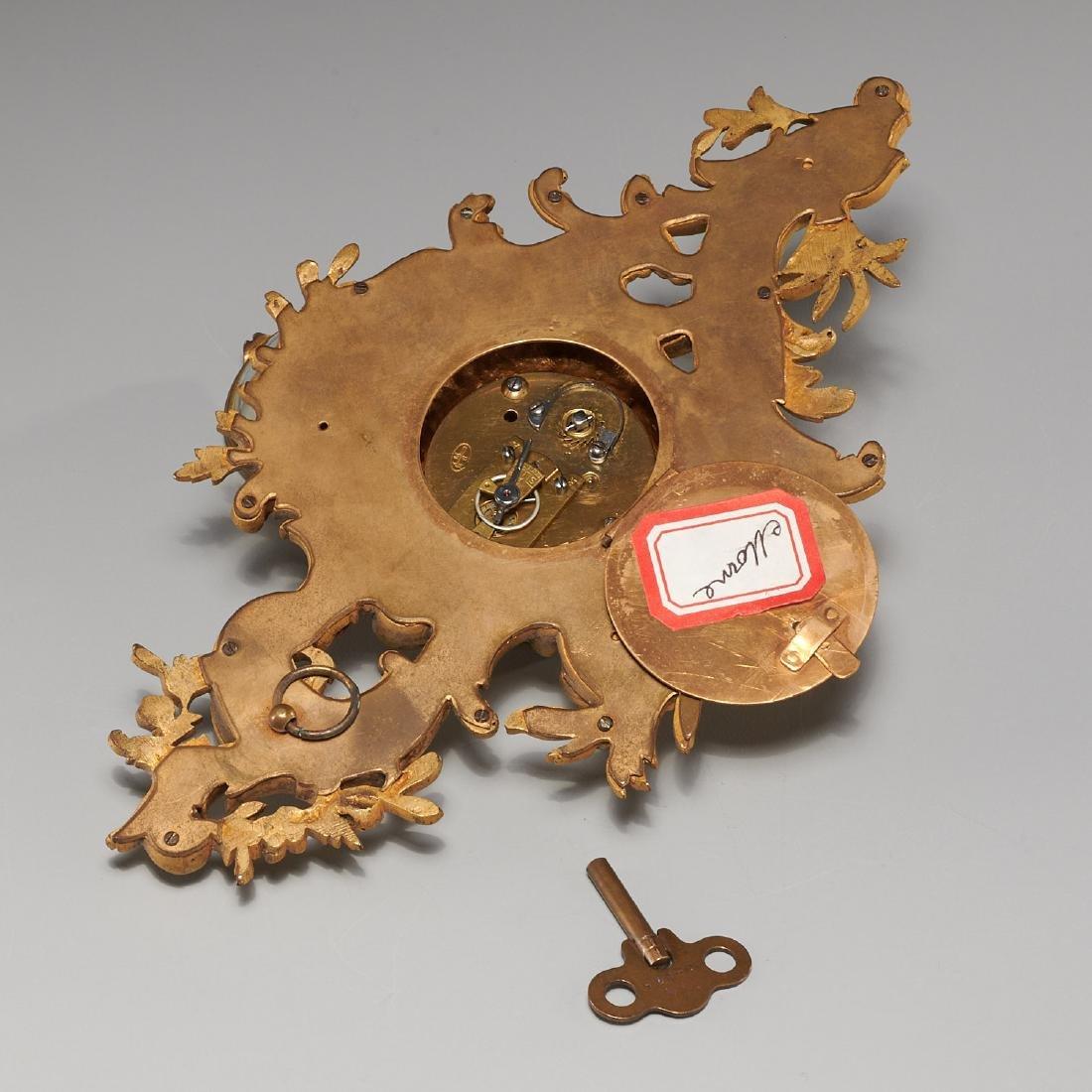French cartel clock signed Balthazar, Paris - 8