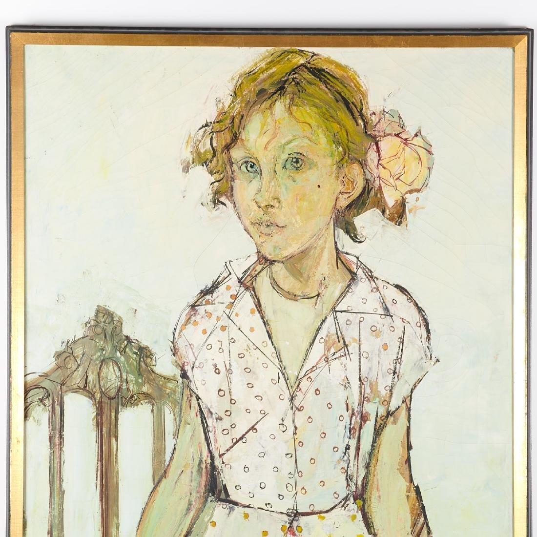 Francoise Adnet, painting - 2
