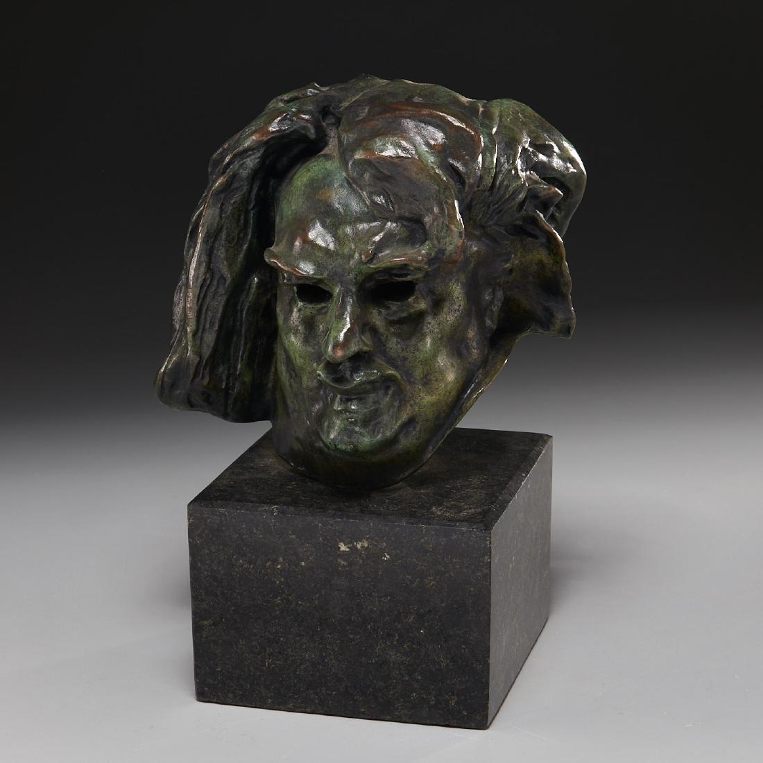 After Auguste Rodin, sculpture