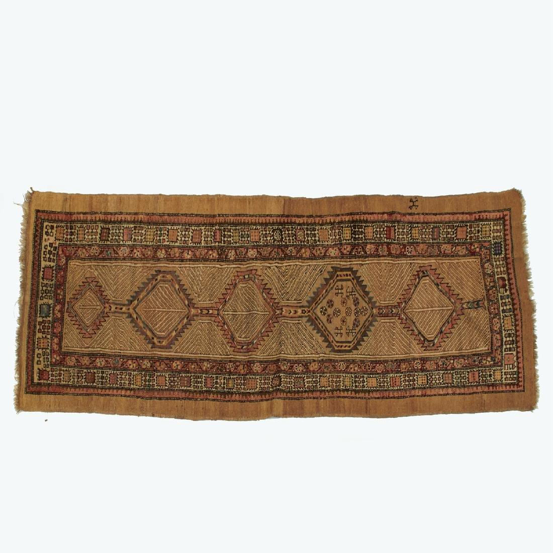 Karabagh camel hair rug