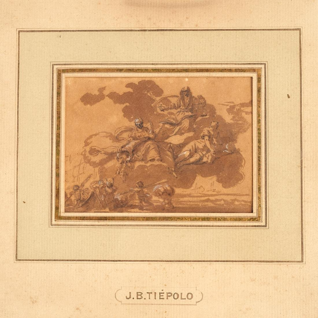Giovanni Battista Tiepolo (after), (2) drawings - 2