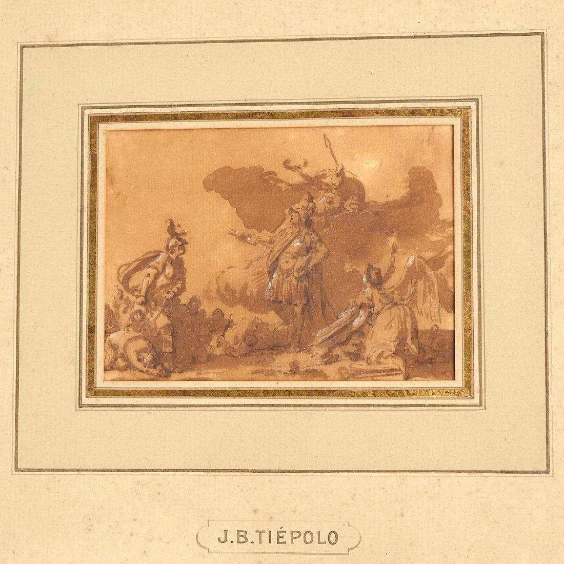 Giovanni Battista Tiepolo (after), (2) drawings - 3