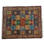 Large Persian Qum area rug