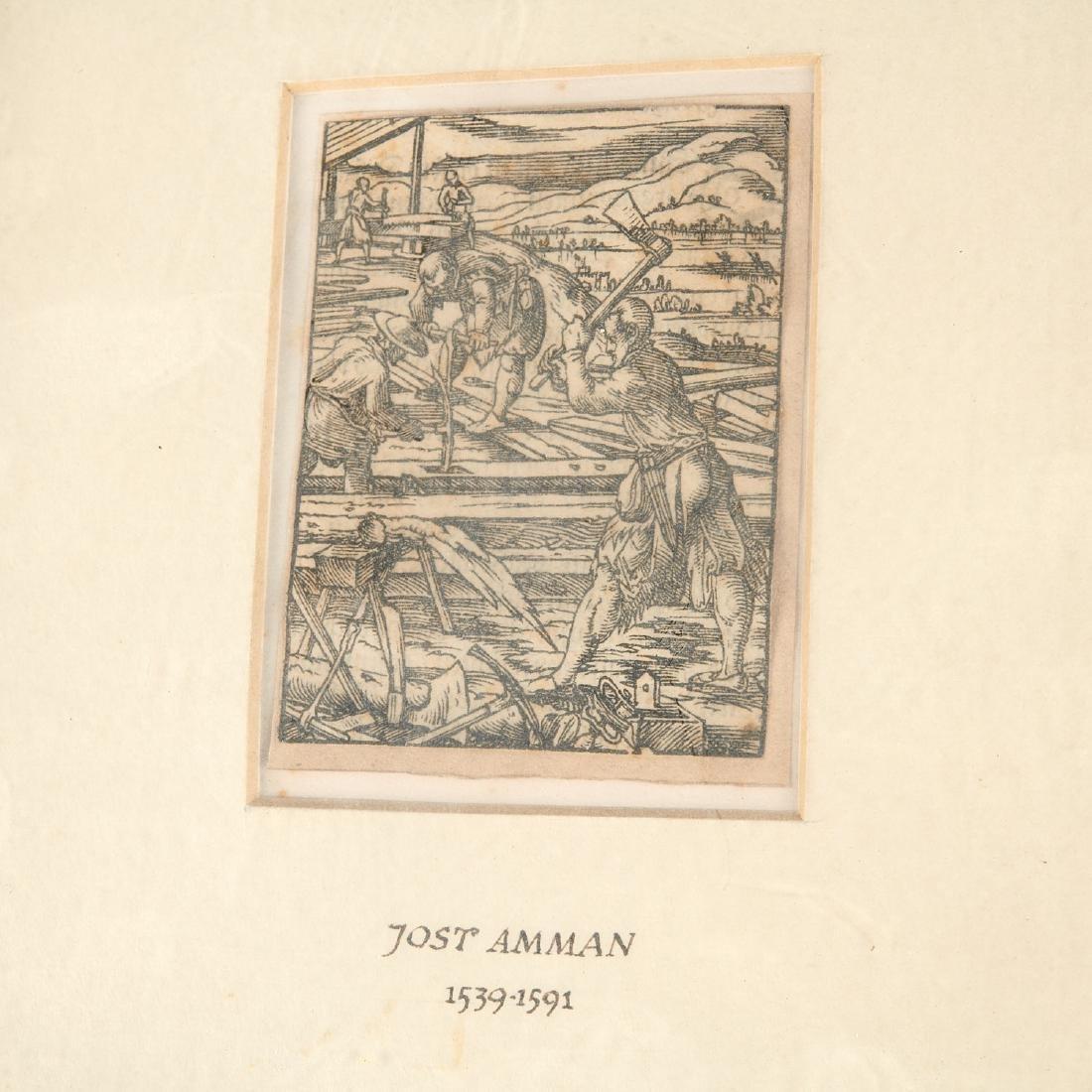 (3) Old Master woodcut engravings - 4