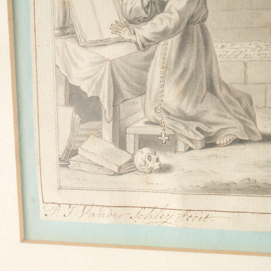 (3) Old Master woodcut engravings - 5