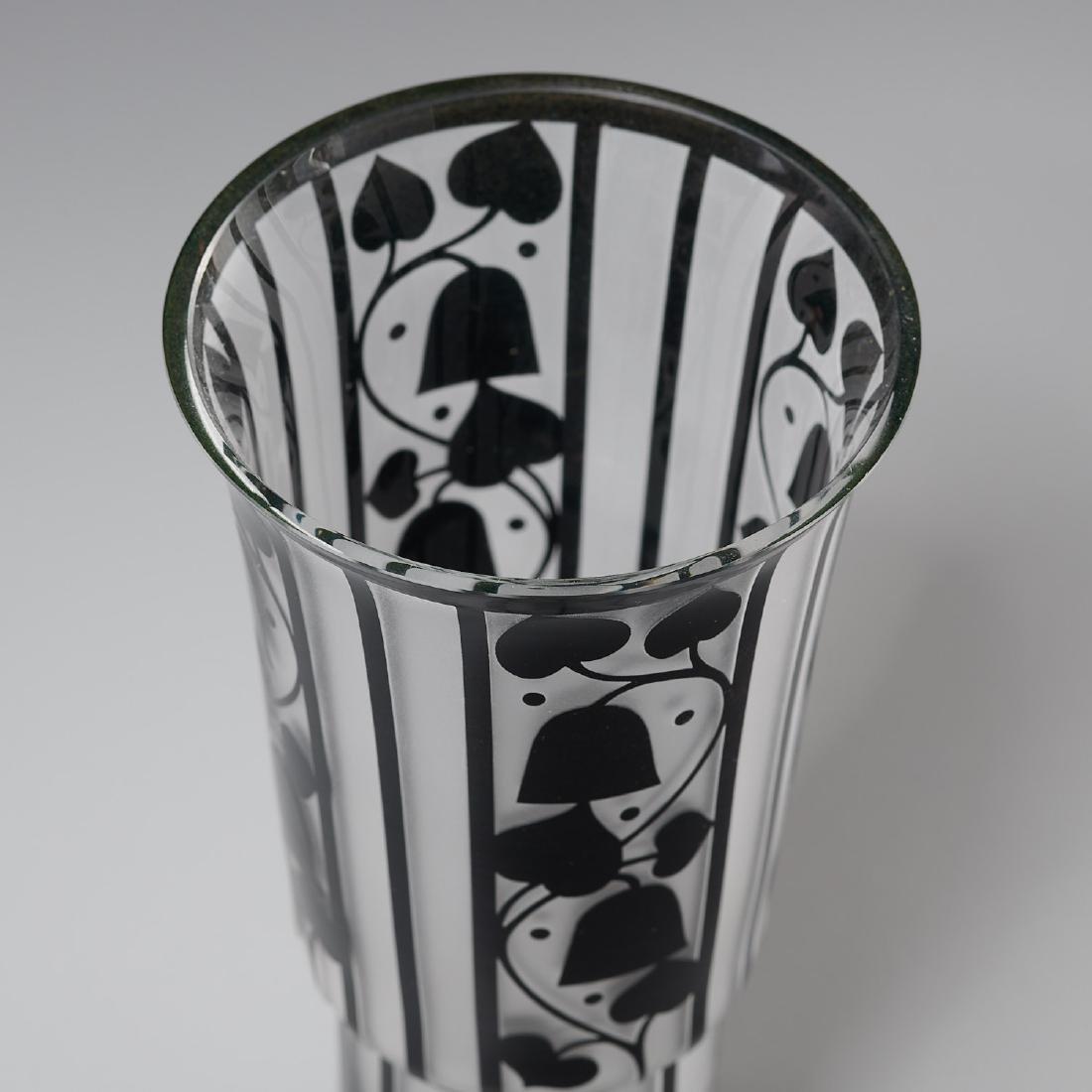 Hans Bolek cameo glass vase for Loetz - 2
